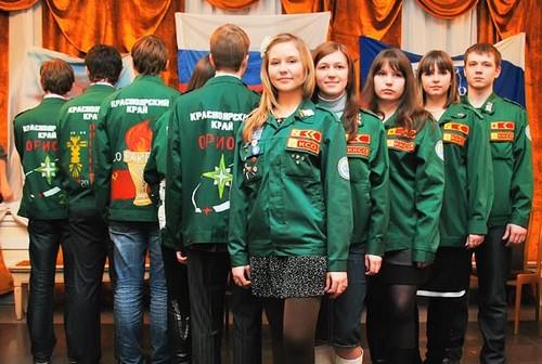 красноярский студенческий отряд