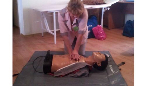 обучение оказанию первой помощи
