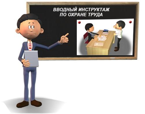 Программа вводного инструктажа по охране труда варианты