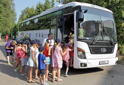 перевозка детей автобусами